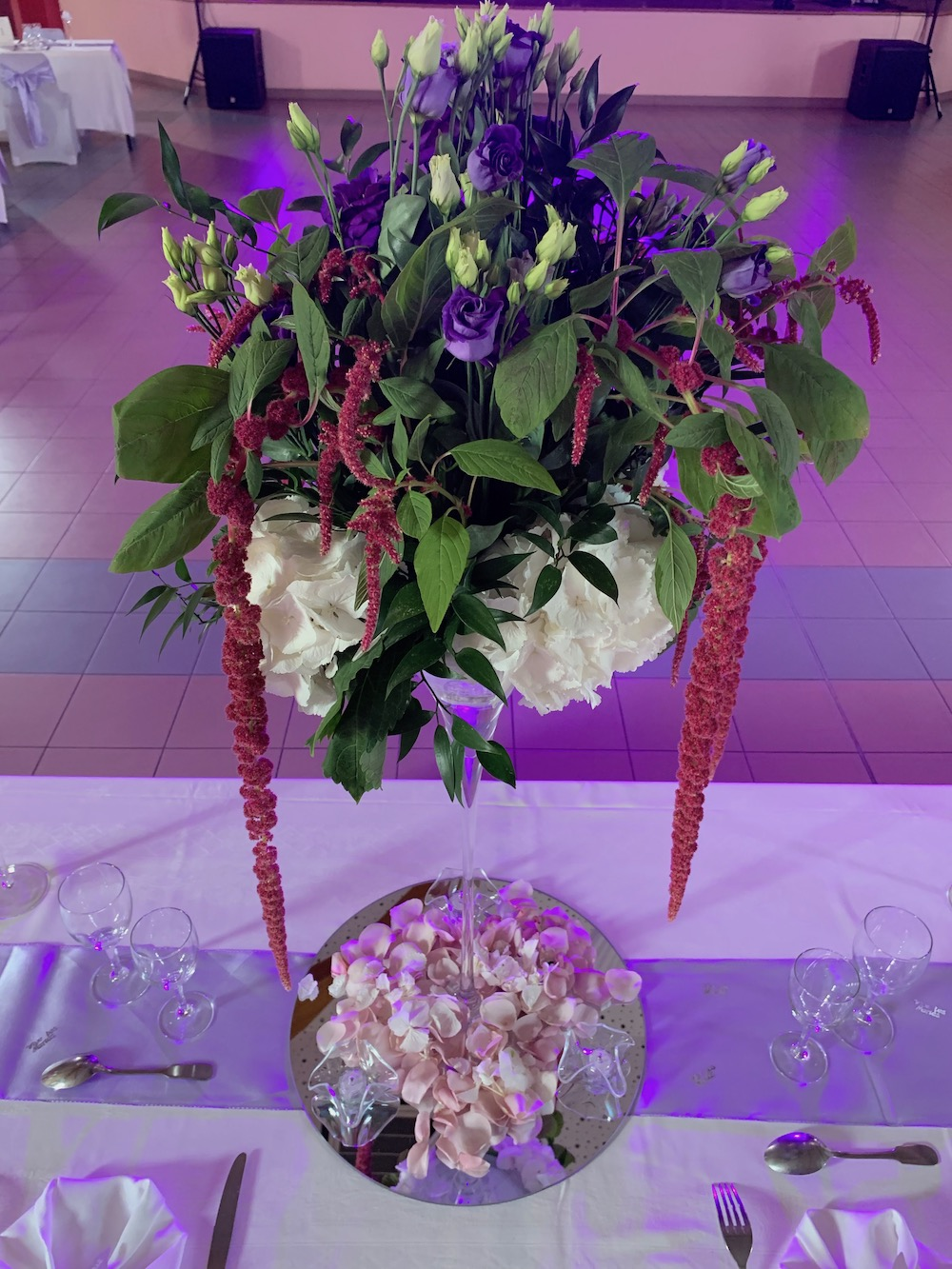 décoration moderne glamour chic mariage gard nimes